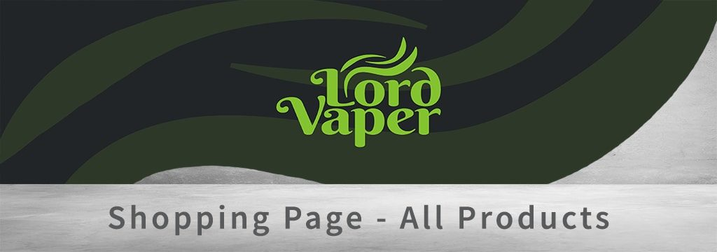 Lord Vaper Pens Main Shopping Page