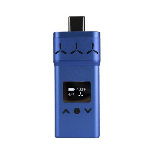 AirVape X dry herb vaporizer in blue
