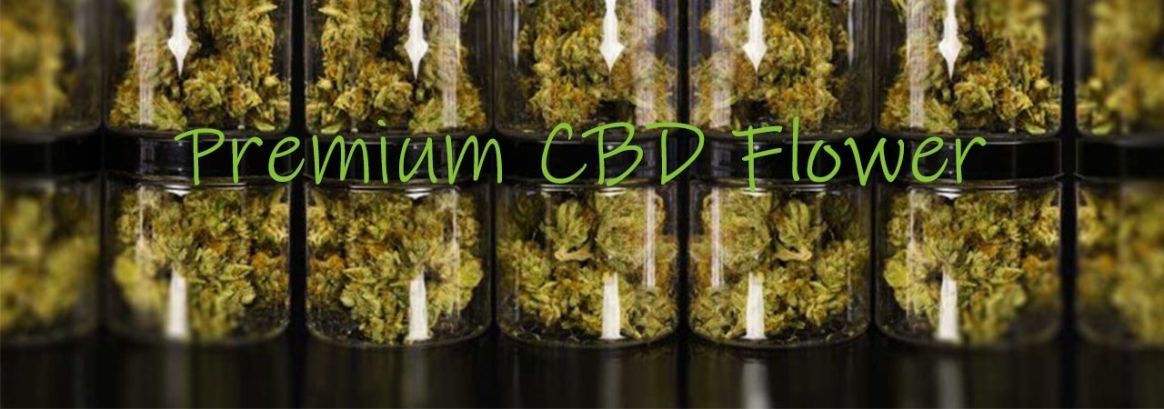 Premium CBD flower category page banner