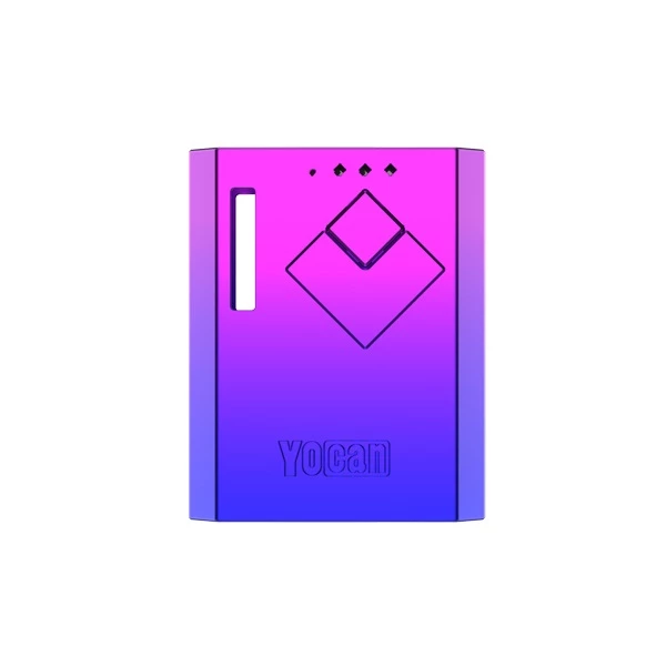 Yocan Wit battery box mod in blue purple gradient